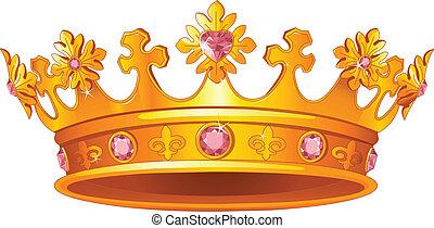 王冠, 皇族