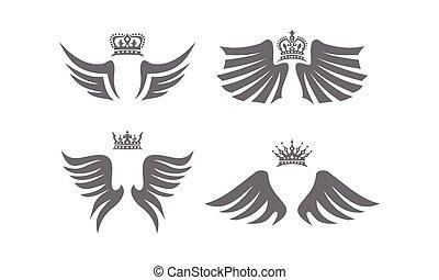 王冠, 翼, コレクション, 保護