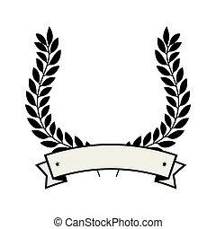 王冠, 花輪, 紋章, アイコン