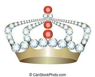 王冠, 金