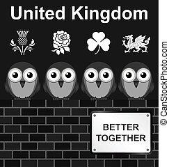 王国, 合併した