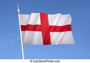 王国, -, 旗, 合併した, イギリス\