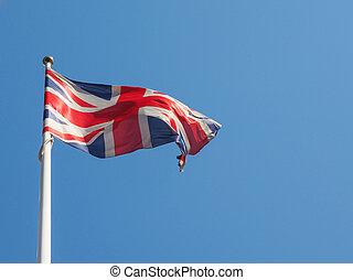 王国, 旗, 合併した