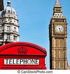王國, 大, 團結, ben, 倫敦