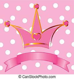 王女, 王冠