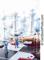 王手詰み, ビジネス, ∥あるいは∥, 政治的である, 概念