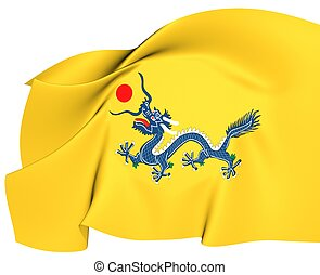 王朝, qing, 旗