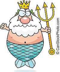 王, 怒る, 海王星