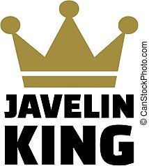 王, 投げ槍, 王冠