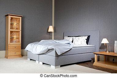 王, 贅沢, ベッド, 大きさ