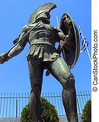王, leonidas, sparta