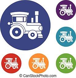 玩具火車, 圖象, 集合