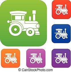 玩具火車, 集合, 彙整