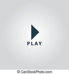 玩, 按鈕