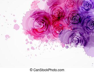 玫瑰, 摘要, 背景