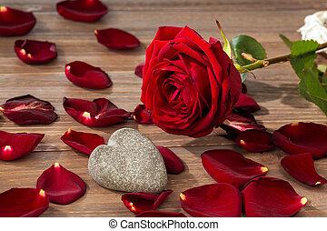 玫瑰, 為, 情人節, 以及, 母親節