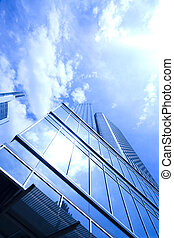 现代的商业, 建筑物