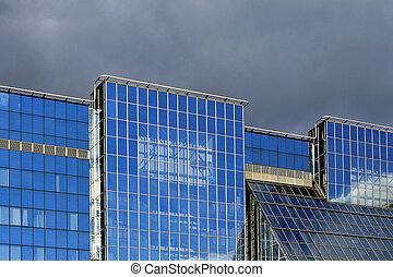 玻璃, 办公室