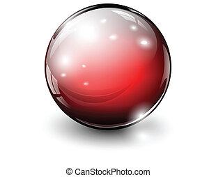 玻璃, 半球