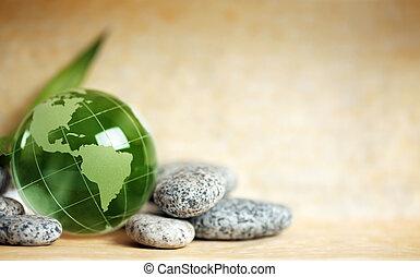玻璃, 地球