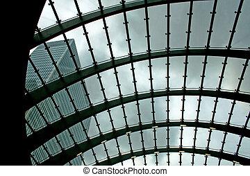 玻璃, 屋顶
