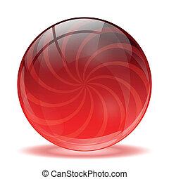 玻璃, 球