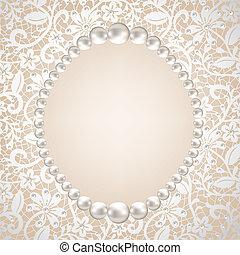珍珠, 框架