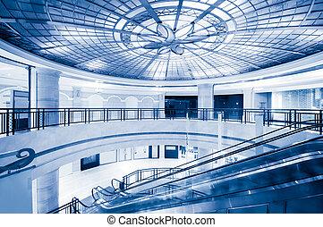 現代建物, 内部