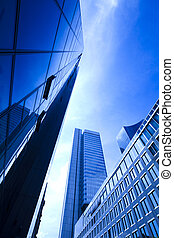 現代的商務, 建築物