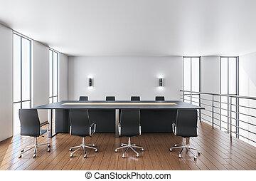 現代部屋, interior., 会議
