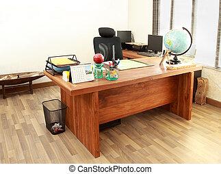 現代, オフィスの内部, デザイン