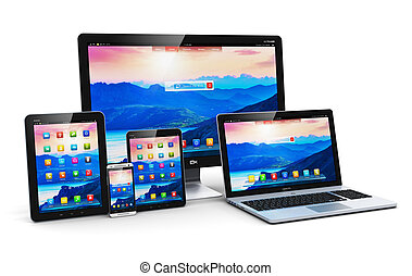 現代, コンピュータ, 装置