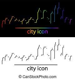 現代, スカイライン, 都市