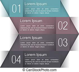 現代, デザイン, テンプレート, infographics