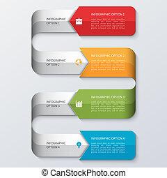 現代 ビジネス, テンプレート, infographics