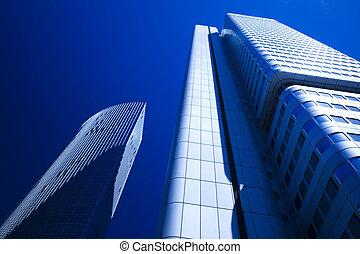 現代 ビジネス, 建物