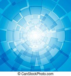 現代 ビジネス, 青い背景