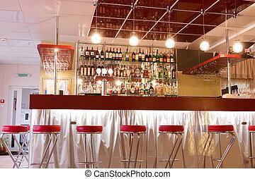 現代, 咖啡館, 內部