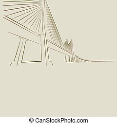 現代, 図画, 橋