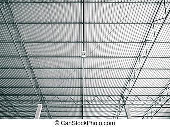現代, 屋根, 倉庫