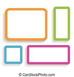 現代, 框架, 對你來說, 設計