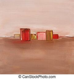 現代, 油絵