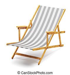 現代, 浜の 椅子
