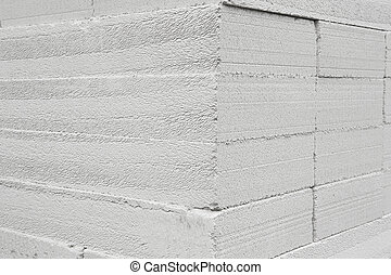現代, 灰色, 磚牆