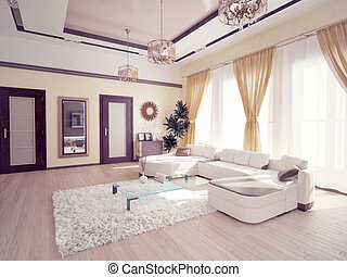 現代 生活, 部屋
