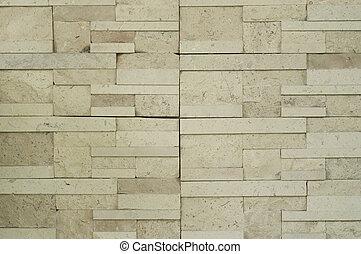 現代, 磚, wall.