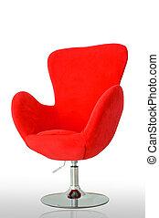 現代, 紅的椅子