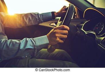 現代, 自動車, 運転手