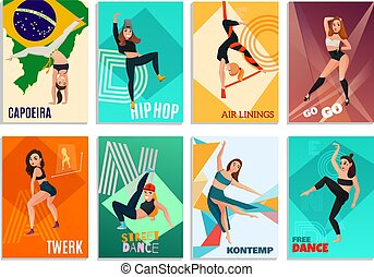 現代, 跳舞, 卡片