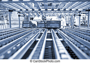 現代, 車の生産, 線